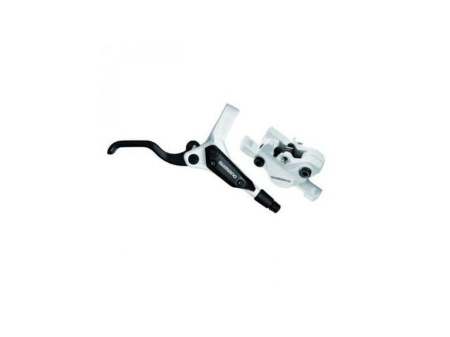 Shimano BR-M396W schijfrem voorwiel wit